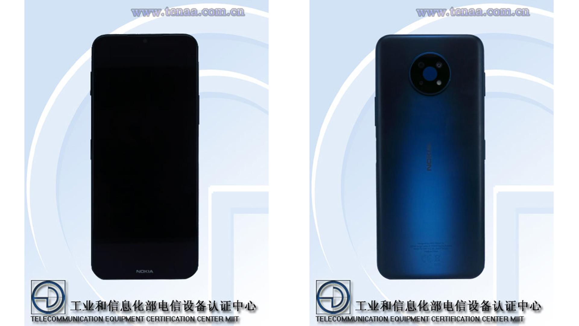 Nokia G50 TENAA listing