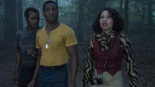 Courtney B. Vance, Jonathan Majors, Jurnee Smollett in Lovecraft Country on HBO.