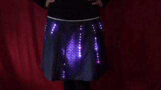 makeTVee's LED Neopixel WS2812 DIY Arduino motion detection skirt