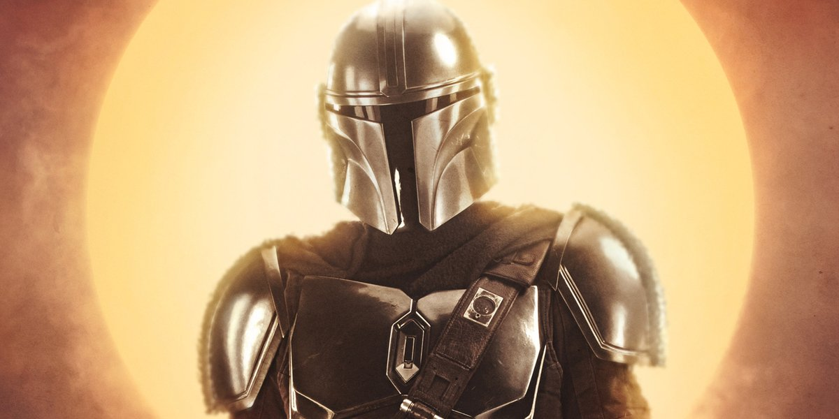 the mandalorian mando poster star wars disney+