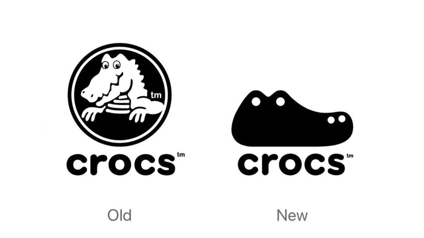 Concept crocs logo gives 'ugly' shoe brand a smart new look