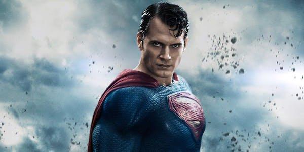Superman poster for Batman v Superman