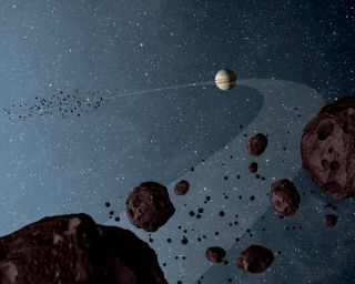 Visiting eight asteroids in 12 years will take artistry, and an assist from Excel.