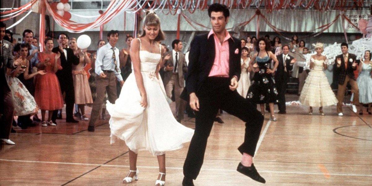 Olivia Newtwon-John and John Travolta in Grease