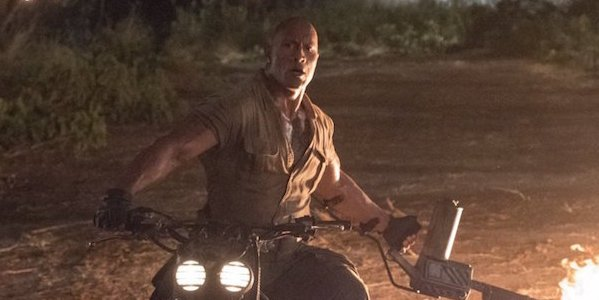 The Rock in Jumanji: Welcome to the Jungle