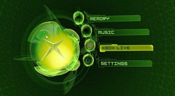 OG Xbox Dashboard