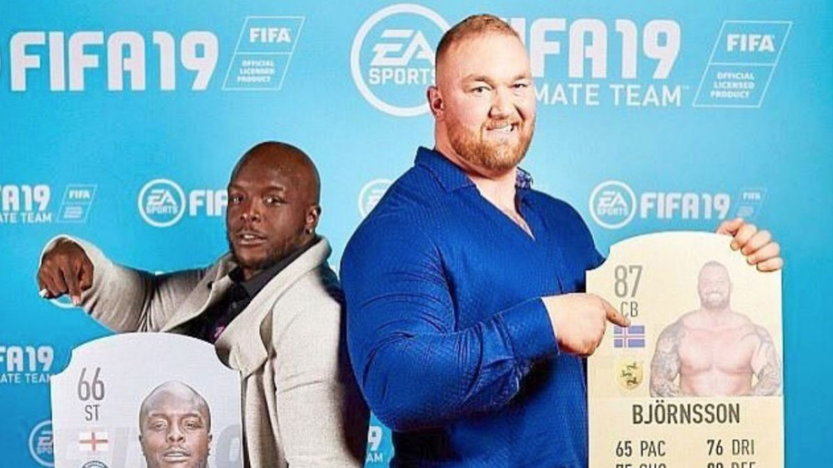 Game of Thrones' Gregor 'The Mountain' Clegane just got a FIFA 19 Ultimate Team card
