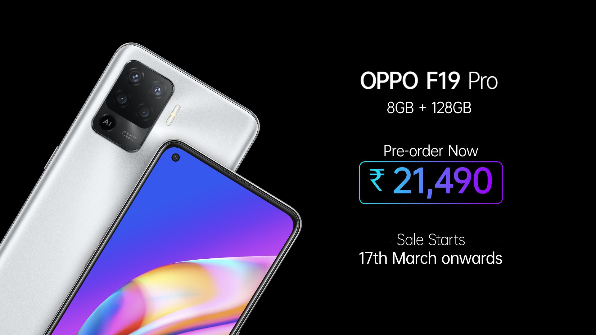 Oppo F19 Pro series