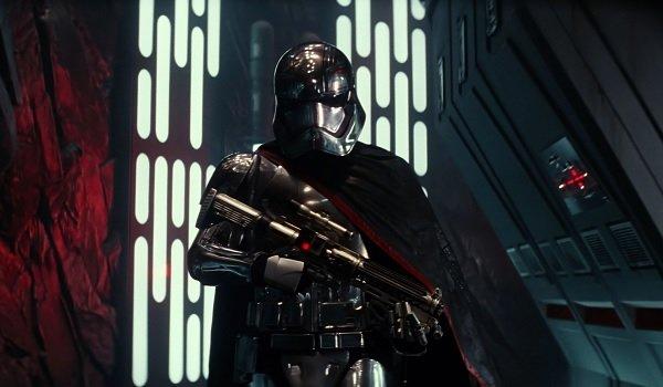Star Wars The Force Awakens Captain Phasma walks like a badass