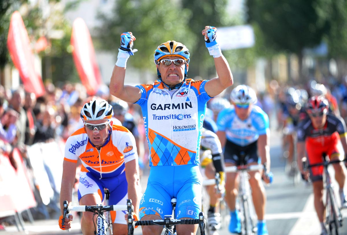 Robbie Hunter wins opening stage, Tour of Murcia 2010, stage one