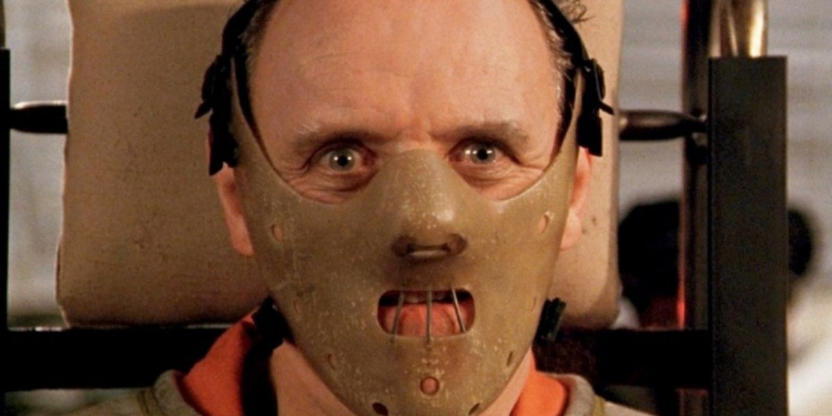 Anthony Hopkins as Hannibal Lector in The Silence of the Lambs