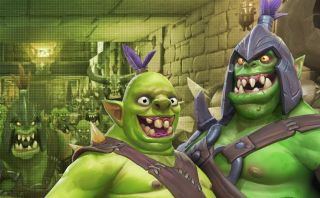 Grinning orcs