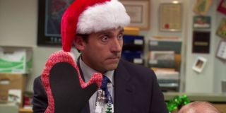 """Michael Scott in """"Christmas Party"""" in _The Office._"""