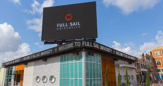 Full Sail University Showcases Students' Work With New Daktronics Display