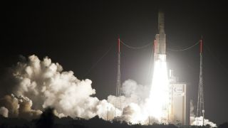 Ariane Launches 2 Satellites