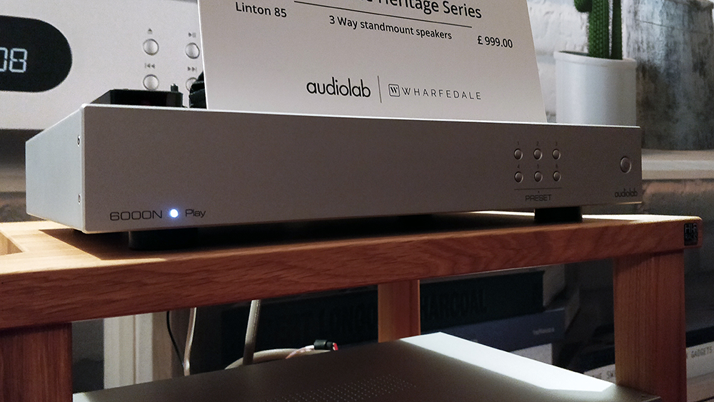 Audiolab previews affordable 6000N Play music streamer