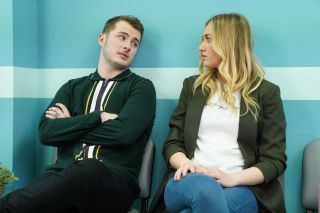 EastEnders Louise Mitchell and Ben Mitchell