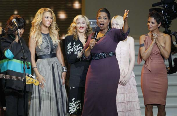 Tom Cruise, Madonna, Beyonce farewell Oprah