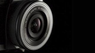 Olympus 14-42mm 'EZ' pancake lens