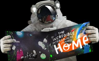 "Cover of ""The Incredible Intergalactic Journey Home"""