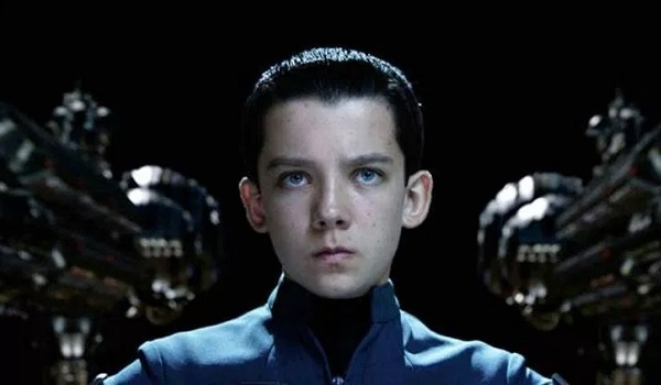 Ender's Game Asa Butterfield stoic