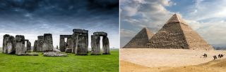 Ley lines connect the pyramids and Stonehenge