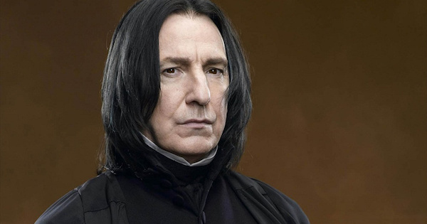 Here S What Severus Snape Is Actually Supposed To Look Like