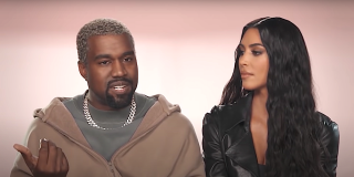 Kim Kardashian watches Kanye West talk on Keeping Up with the Kardashians