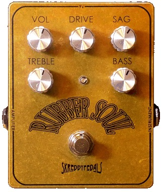 Skreddy Pedals Introduces New Rubber Soul Overdrive
