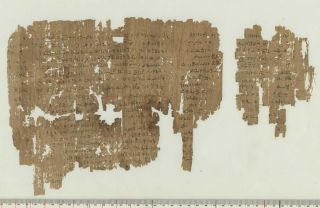 an ancient Egyptian papyrus written in Demotic