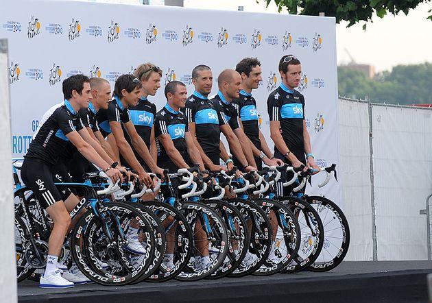 Team Sky Tour de France 2010 team presentation Rotterdam.jpg