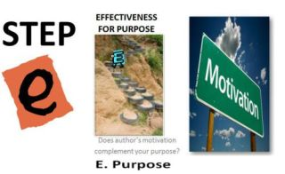 Step E: Seven Steps To Website Evaluation For Students- Effectiveness For Purpose
