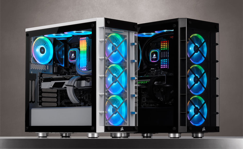 Corsair releases a 'smart' mid-tower case with three included RGB fans for $149 | PC Gamer