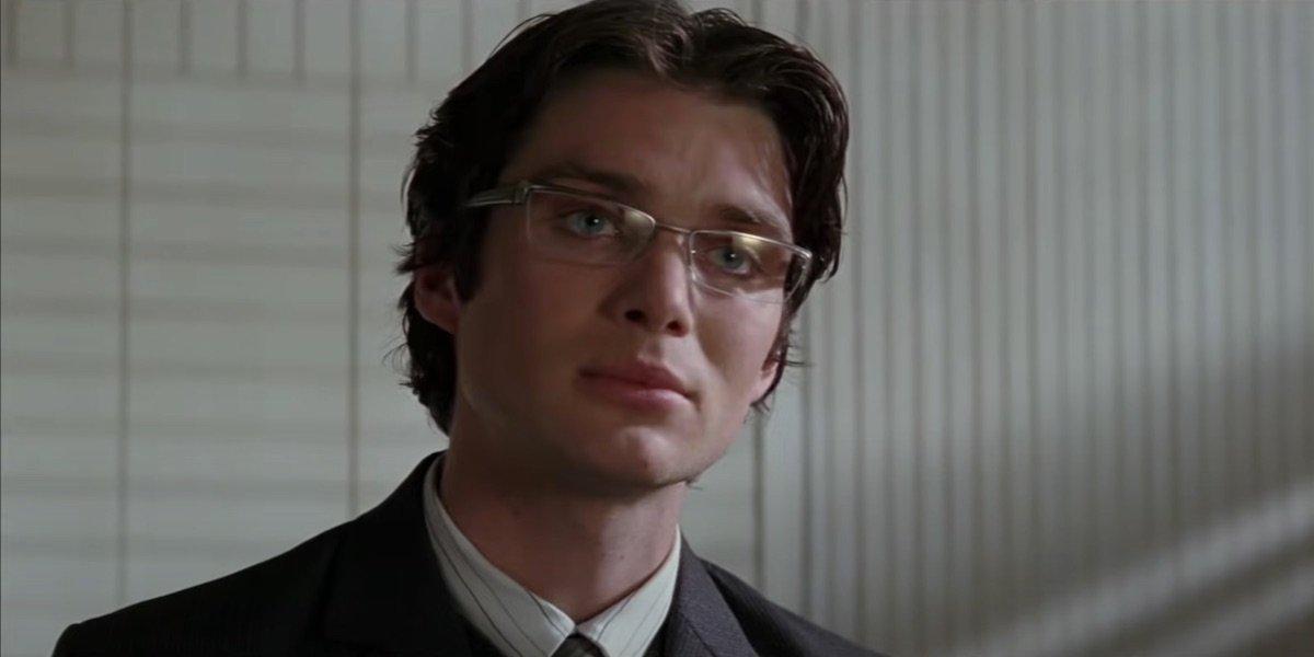 Cillian Murphy as Dr. Jonathan Crane in Batman Begins