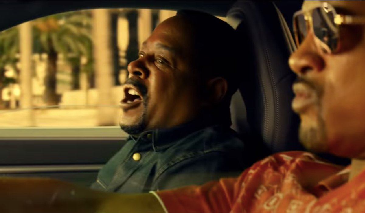 Bad Boys For Life Martin Lawrence freaking out in the car