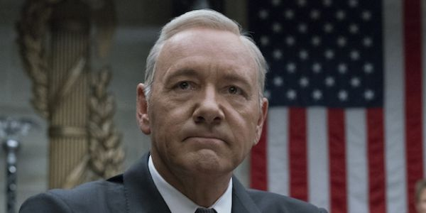 Kevin Spacey in House of Cards for Netflix
