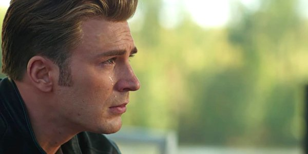 Avengers Endgame Steve Rogers cries Captain America cries Marvel