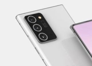 Galaxy Note 20 Plus camera render