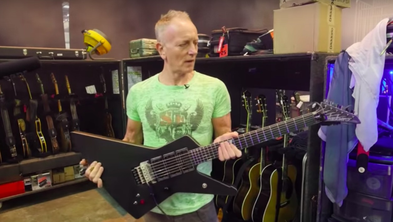 Watch Def Leppard's Phil Collen Show Off His Collection of