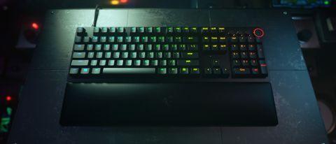 Razer Huntsman V2 on desktop