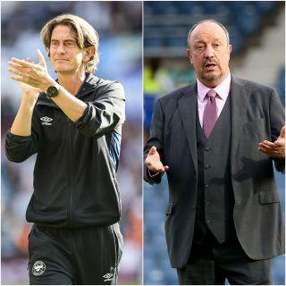 Thomas Frank and Rafael Benitez