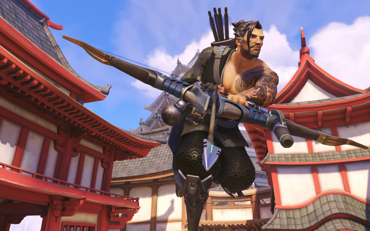 Hanzo's long-anticipated Scatter Arrow replacement is now playable on the Overwatch PTR