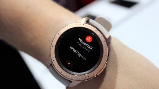 Interaction is limited when using the Galaxy Watch with iOS