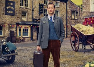 Nicholas Ralph as James Herriot in All Creatures Great and Small