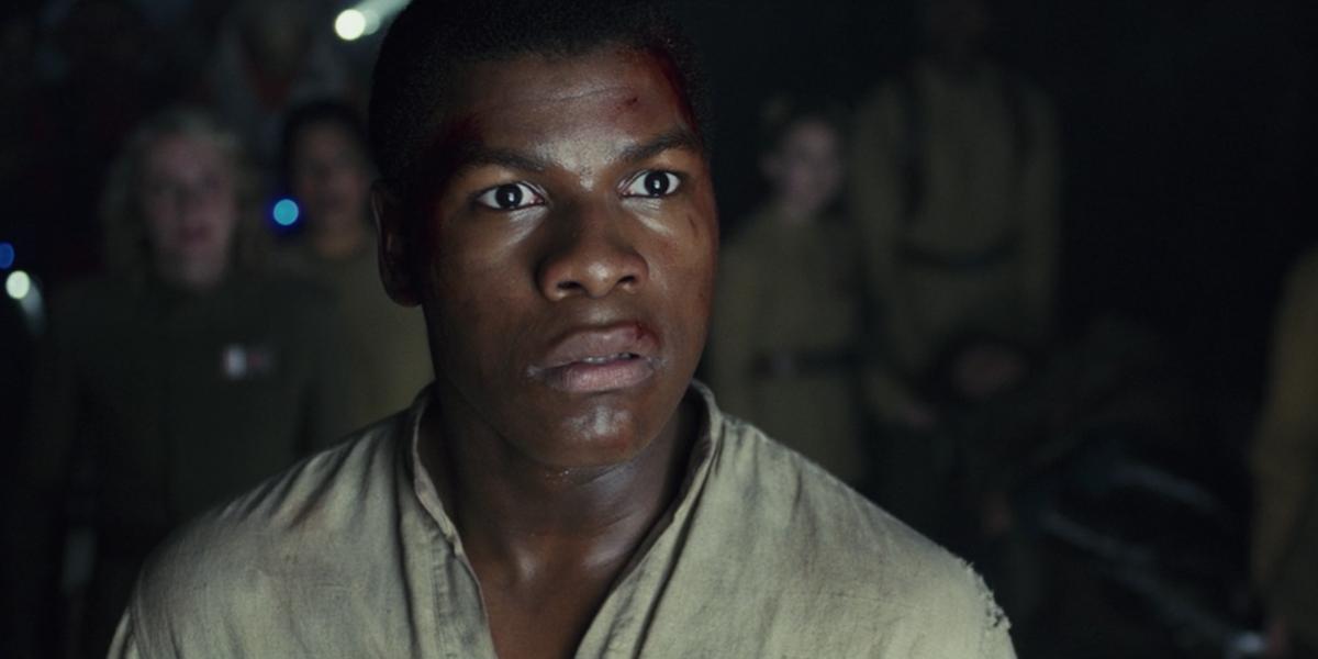 John Boyega  in The Last Jedi