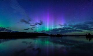Auroras over Maine