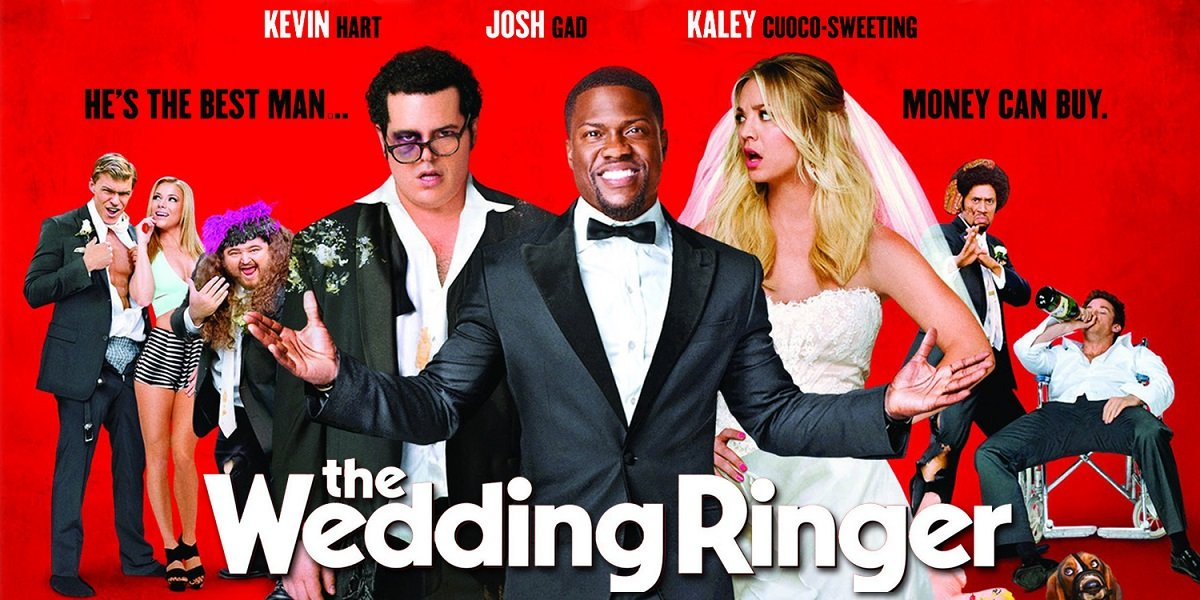 Kevin Hart and Josh Gad in The Wedding Ringer