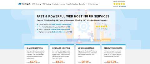 Hosting.uk Review