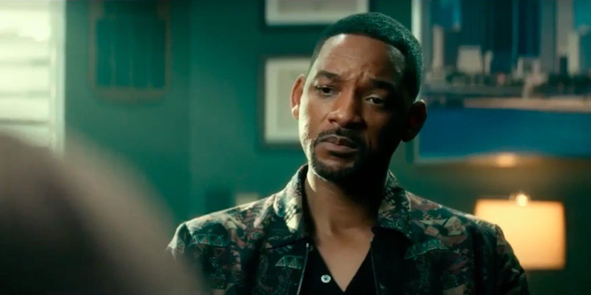 Will Smith frowning in Bad Boys For Life
