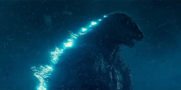 Godzilla charging up